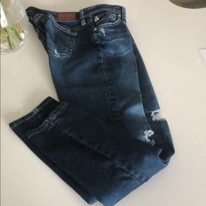 AG ankle jeans